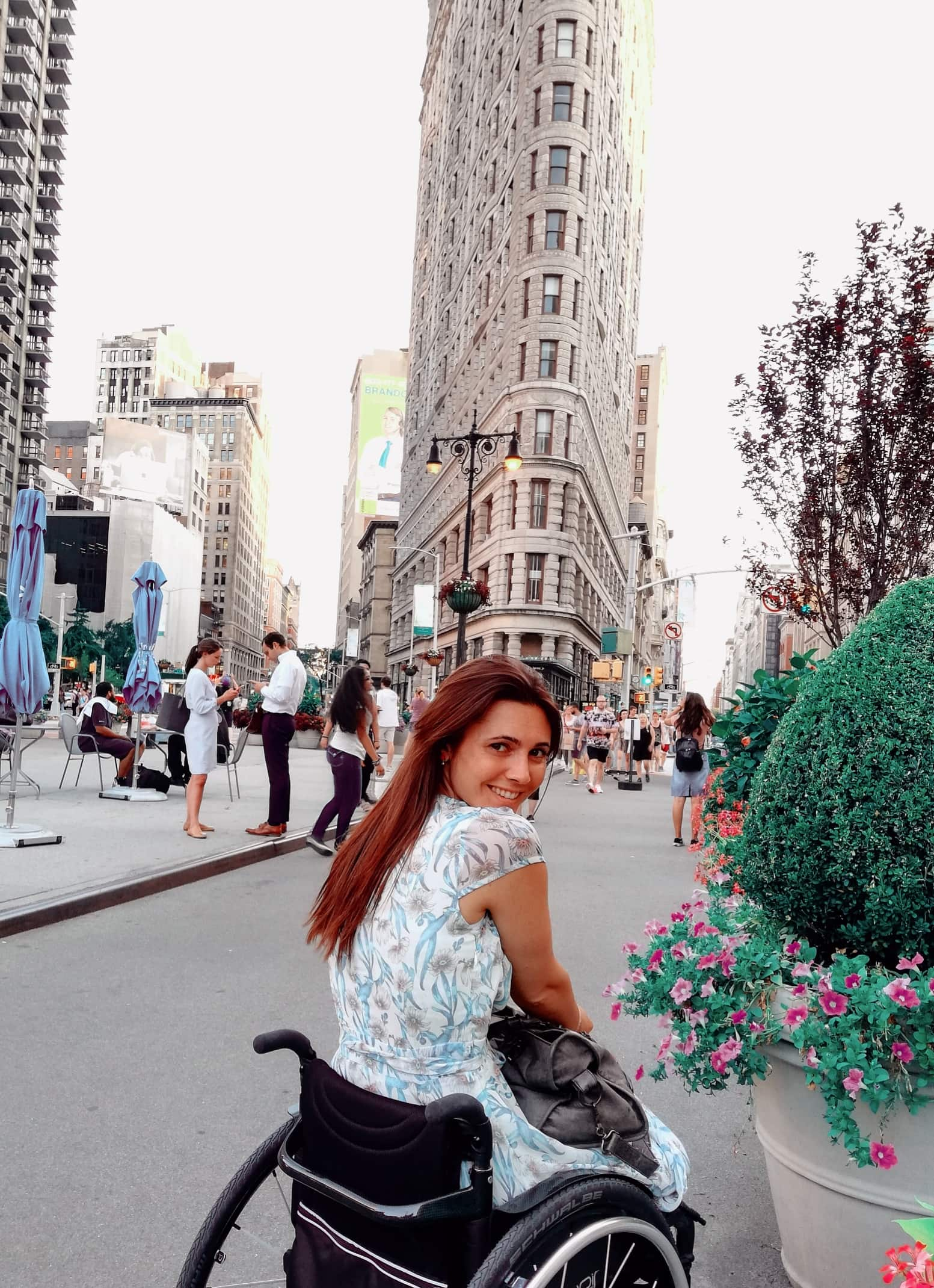 Giulia Lamarca a New York City, Flat Iron Building