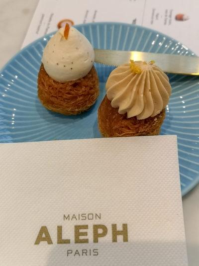 le migliori pasticcerie di Parigi Maison Aleph
