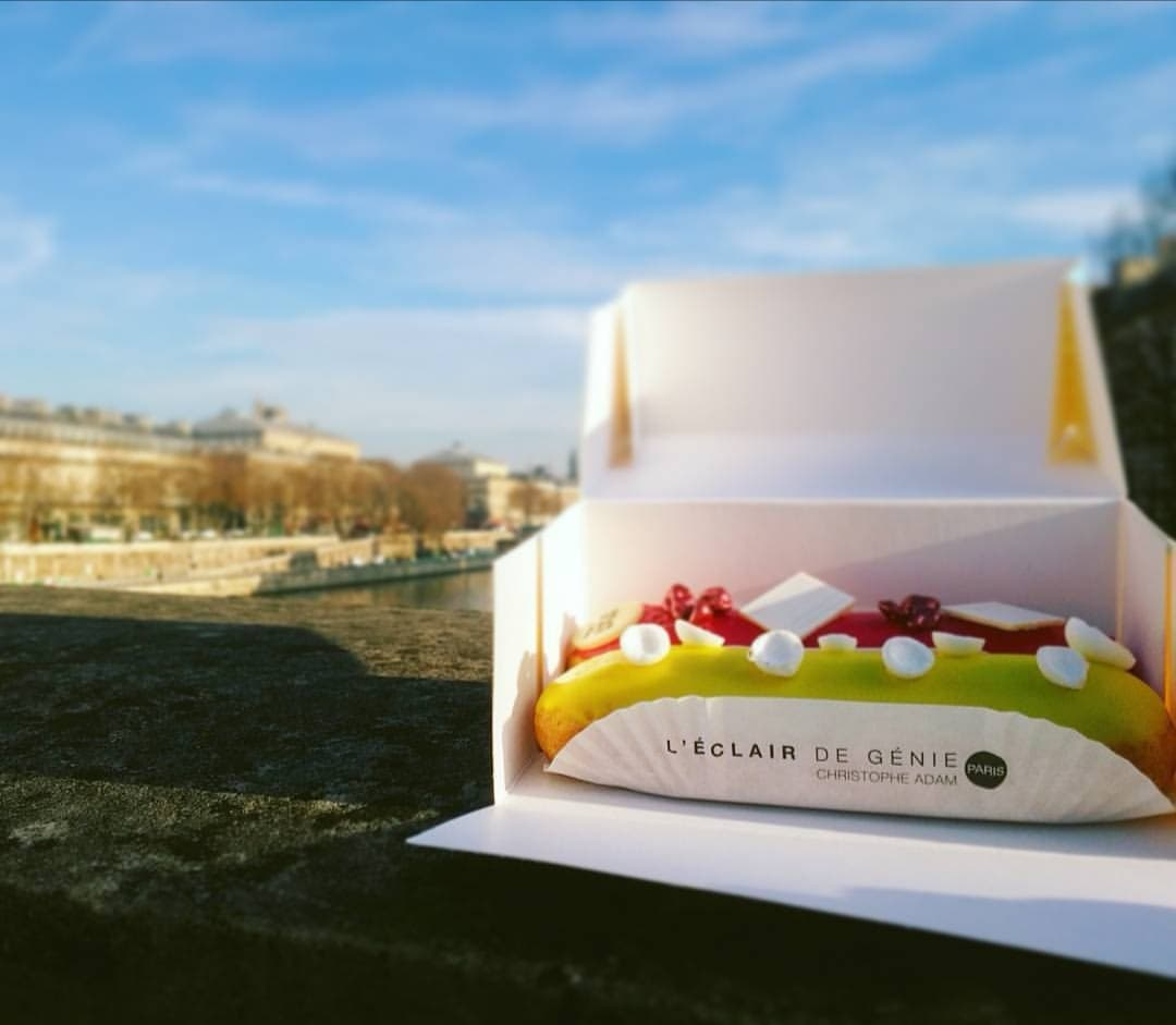 le migliori pasticcerie di Parigi eclair de génie