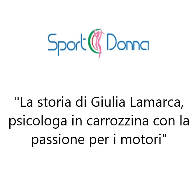 SportDonna e Giulia Lamarca