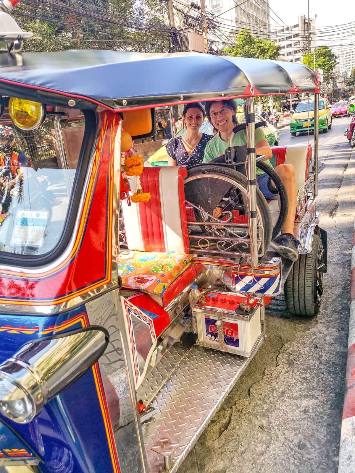 thailandia in carrozzina