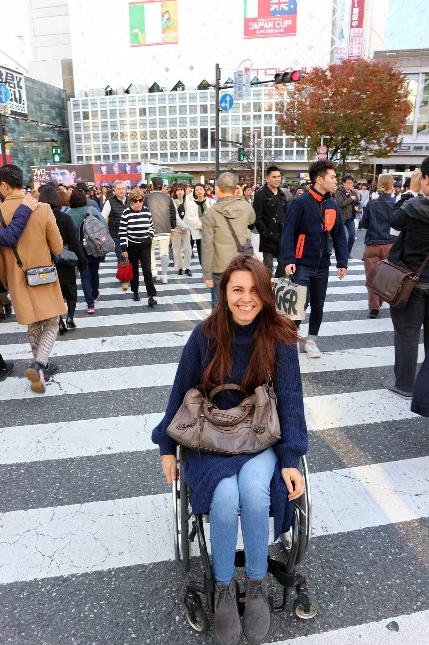 viaggio in giappone shibuya crossing